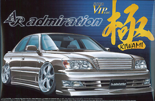 Aoshima 04166 Toyota Celsior (UCF21) AR admiration 1/24 Scale Kit