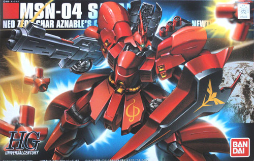 Bandai HGUC 088 Gundam MSN-04 SAZABI 1/144 Scale Kit