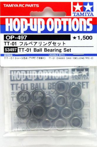 Tamiya 53497 (OP497) TT-01 Ball bearing Set