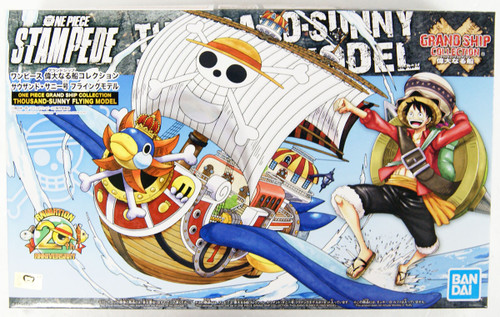 Bandai ONE PIECE GRAND SHIP COLLECTION Thousand Sunny Flying Model