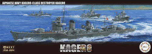 Fujimi NX-4 IJN Destroyer Kagero 1/700 scale kit