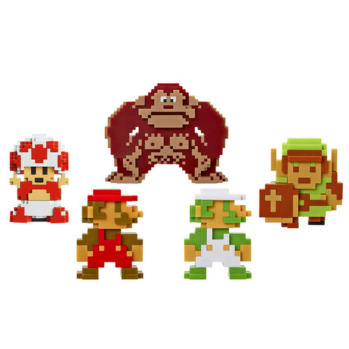 Nintendo 2.5 Inch Figure 8bit Collection