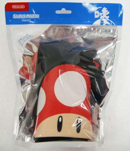 Nintendo Super Mario Portable Slippers 'Super Mashroom'