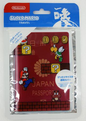 Nintendo Super Mario Passport Cover 'Stage'