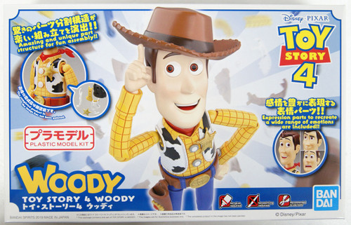 Bandai Toy Story 4 Woody Plastic Model Kit