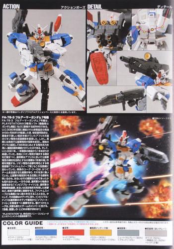 Bandai HGUC 098 Gundam FA-78-3 FULLARMOR 7TH 1/144 Scale Kit