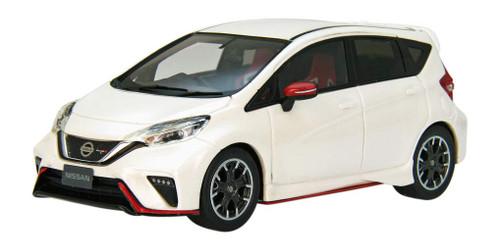 Ebbro 45491 Nissan Note NISMO S Brilliant White Pearl (Resin) 1/43 Scale