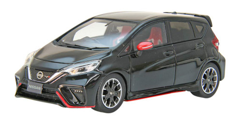 Ebbro 45492 Nissan Note NISMO S Super Black (Resin) 1/43 Scale