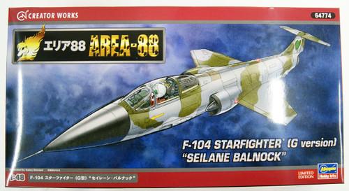 Hasegawa Area 88 F-104 Startfighter (Type G) Seilane Balnock 1/48 Scale Kit