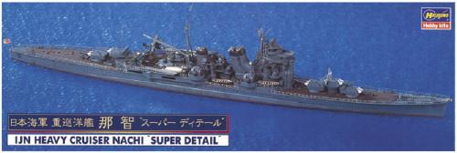 Hasegawa IJN Heavy Cruiser Nachi Super Detail 1/700 Scale Kit