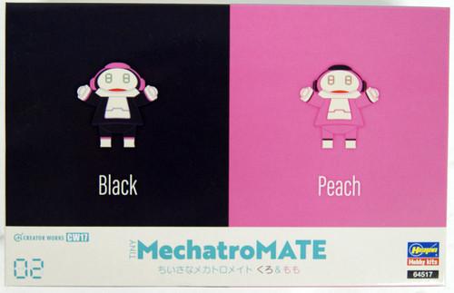 Hasegawa CW17 Small Mechatromate No.02 Black & Pink