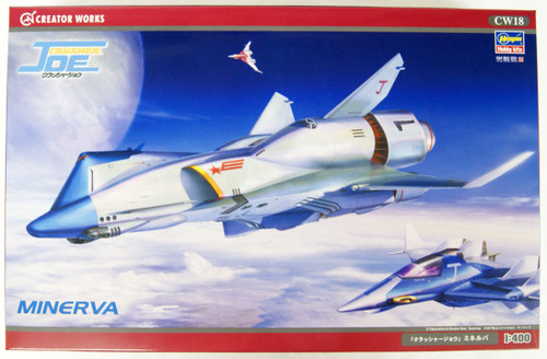 Hasegawa CW18 Crusher Joe Minerva 1/400 Scale Kit