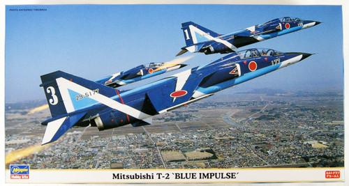 Hasegawa 09636 Mitsubishi T-2 Blue Impulse 1/48 scale kit