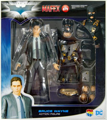 Medicom MAFEX 079 Bruce Wayne The Dark Knight Trilogy Ver. Action Figure