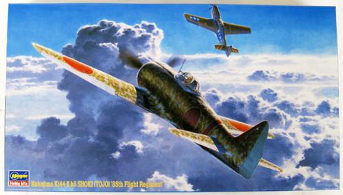 Hasegawa JT37 Nakajima Ki-44-II Kou Shoki (Tojo) 85th Flight Regiment 1/48 Scale Kit