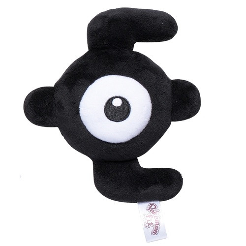 Pokemon Center Original Plush Doll Pokemon fit Unown E