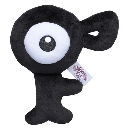 Pokemon Center Original Plush Doll Pokemon fit Unown F