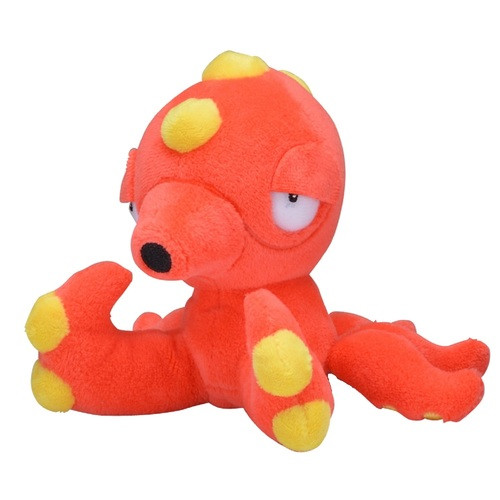 Pokemon Center Original Plush Doll Pokemon fit Octillery