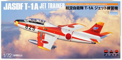 Platz JASDF T-1A Jet Training Aircraft 1/72 Scale Model Kit