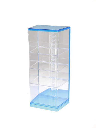 Wave Materials TC072 Clear Case for Display Models T-Case Stage (DL) Blue