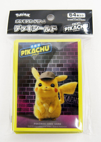 Pokemon Center Original Card Deck Shield Detective Pikachu