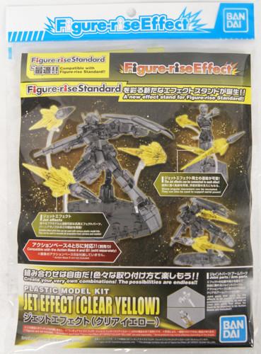 Bandai Figure-Rise Effect 581037 Jet Effect (Clear Yellow) Plastic Model Kit
