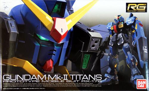 Bandai RG 07 Gundam Mk-II Titans RX-178 1/144 Scale Kit