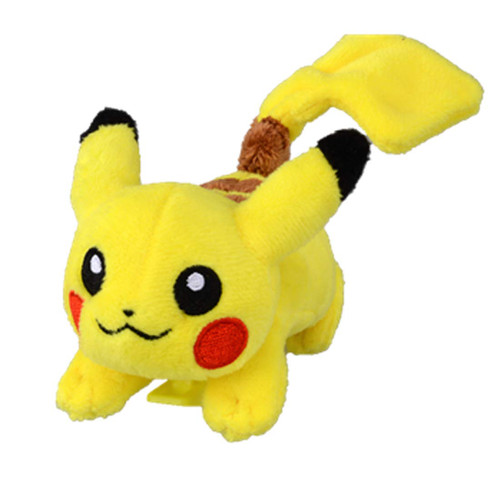 Takara Tomy Pokemon Clip Plush Doll Little Pikachu
