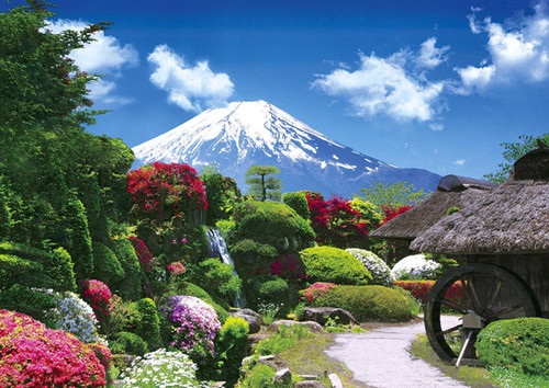 Apollo-sha Jigsaw Puzzle 41-316 Japanese Scenery Mt. Fuji (108 Pieces)