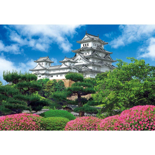 Apollo-sha Jigsaw Puzzle 47-201 Japanese Scenery Himeji Castle (600 S-Pieces)