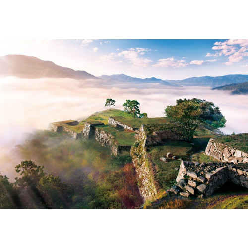Apollo-sha Jigsaw Puzzle 48-620 Japanese Scenery Takeda Castle Hyogo(300 Pieces)