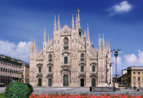 Apollo-sha Jigsaw Puzzle 48-622 The Duomo of Milan, Italy (300 Pieces)
