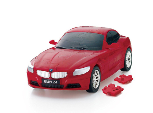 Beverly Car Puzzle 3D CP3-003 BMW Z4 Red (60 pcs) 4977524484363
