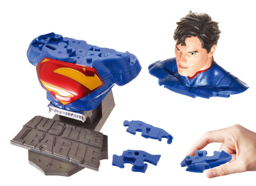Beverly Car Puzzle 3D CP3-013 Superman (72 pcs)