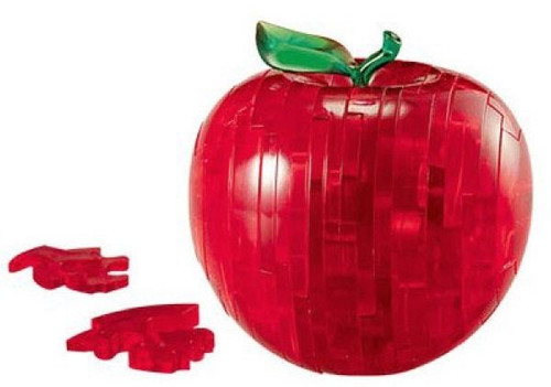 Beverly Crystal 3D Puzzle 50071 Apple (Red)