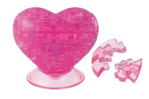 Beverly Crystal 3D Puzzle 50085 Heart (Pink)