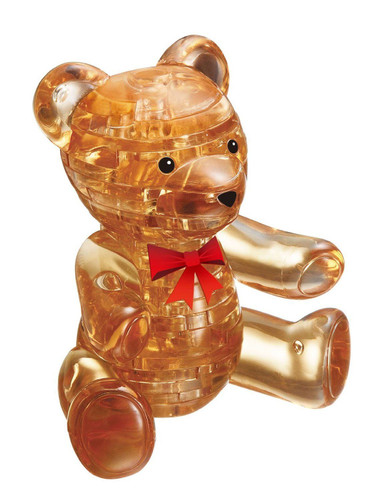Beverly Crystal 3D Puzzle 50119 Teddy Bear Brown
