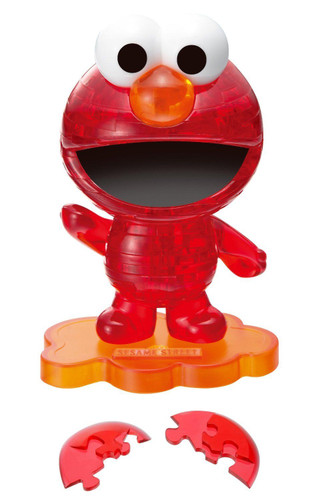 Beverly Crystal 3D Puzzle 50129 Sesame Street Elmo Red