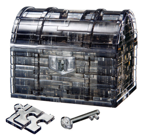 Beverly Crystal 3D Puzzle 50137 Treasure Box Black
