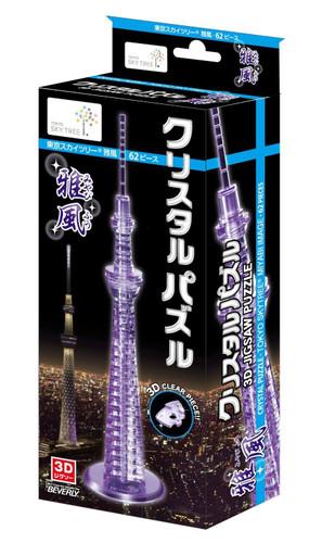 Beverly Crystal 3D Puzzle 50143 Tokyo Sky Tree Miyabi