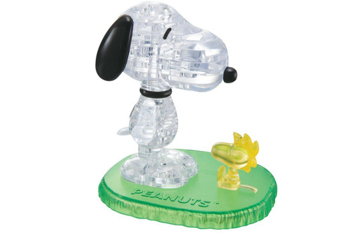 Beverly Crystal 3D Puzzle 50150 Peanuts Snoopy & Woodstock