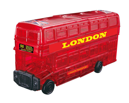 Beverly Crystal 3D Puzzle 50157 London Bus