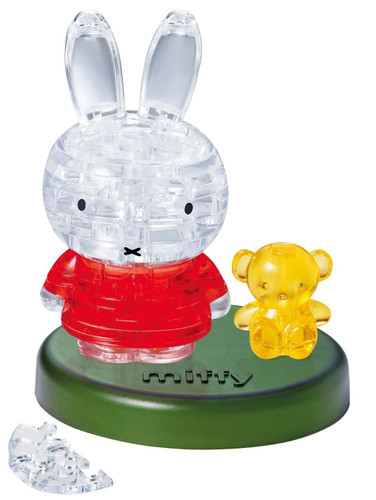 Beverly Crystal 3D Puzzle 50176 Dick Bruna Miffy & Yellow Bear
