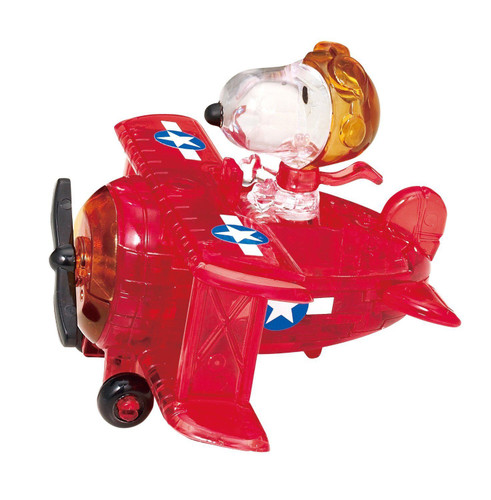 Beverly Crystal 3D Puzzle 50182 Peanuts Snoopy Flying Ace
