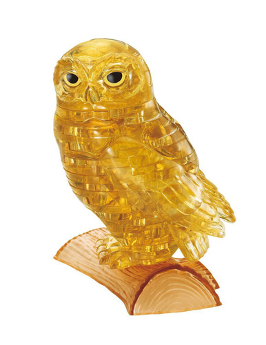 Beverly Crystal 3D Puzzle 50191 Owl Gold