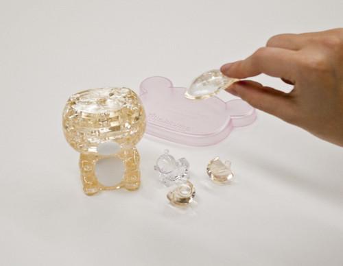 Beverly Crystal 3D Puzzle 50193 Rilakkuma Korilakkuma