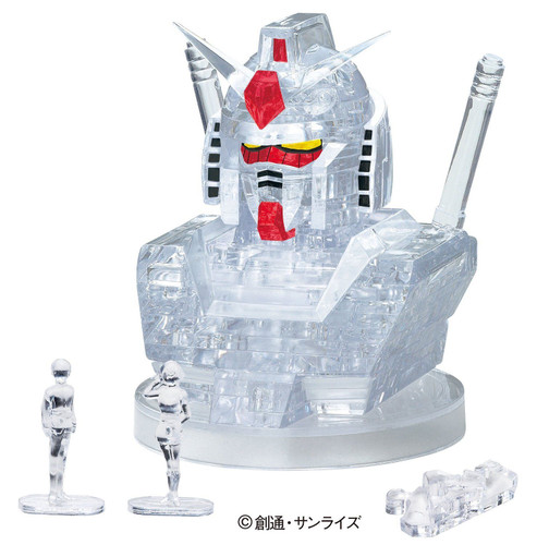 Beverly Crystal 3D Puzzle 50198 RX-78-2 Gundam Clear
