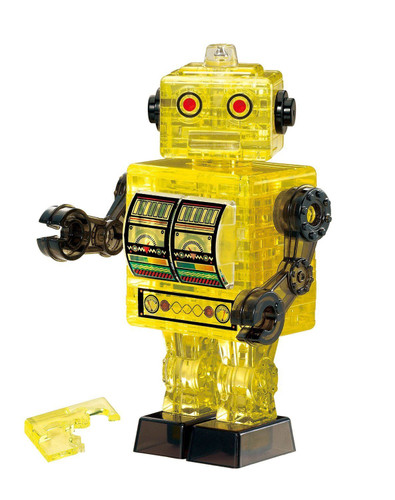 Beverly Crystal 3D Puzzle 50201 Robot Yellow