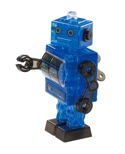 Beverly Crystal 3D Puzzle 50203 Robot Blue