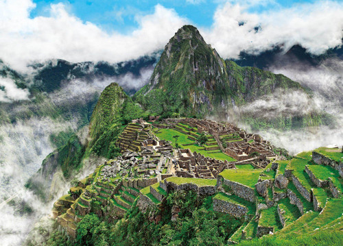 Epoch Jigsaw Puzzle 05-095 Machu Picchu Peru (500 Pieces)